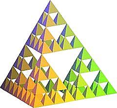 tétraèdre de sierpinski